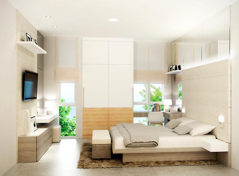 Arata City Homes Bedroom